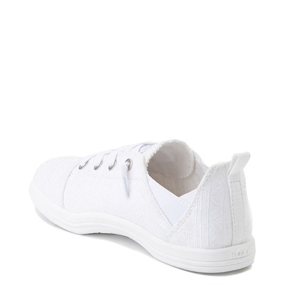 Alternate view of Womens Roxy Libbie Slip On Casual Shoe - White