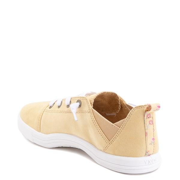 alternate image alternate view Womens Roxy Libbie Slip On Casual Shoe - Dusty YellowALT2
