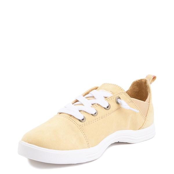 alternate image alternate view Womens Roxy Libbie Slip On Casual Shoe - Dusty YellowALT3