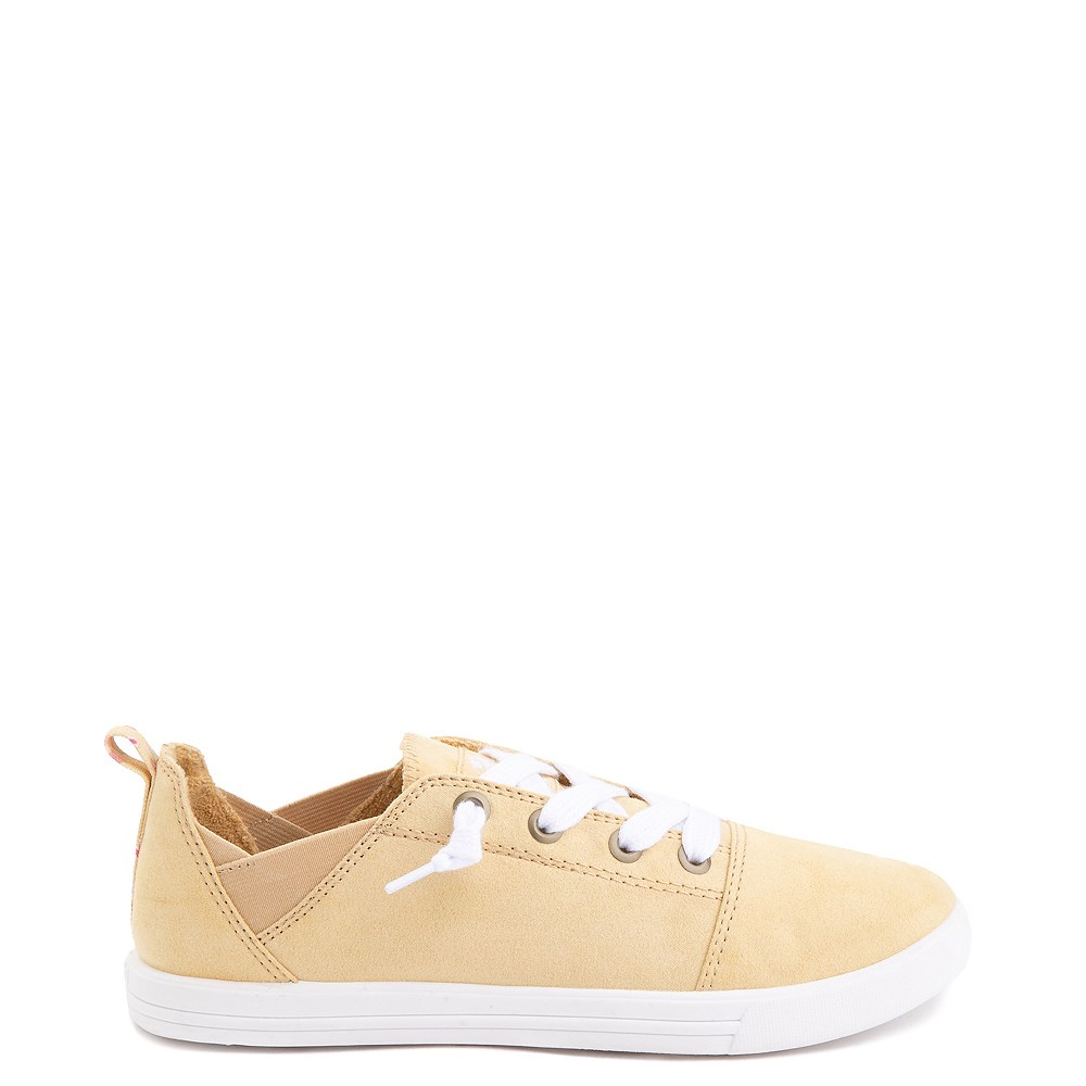 Womens Roxy Libbie Slip On Casual Shoe - Dusty Yellow