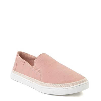 Alternate view of Womens Roxy Tali Slip On Casual Shoe - Mauve