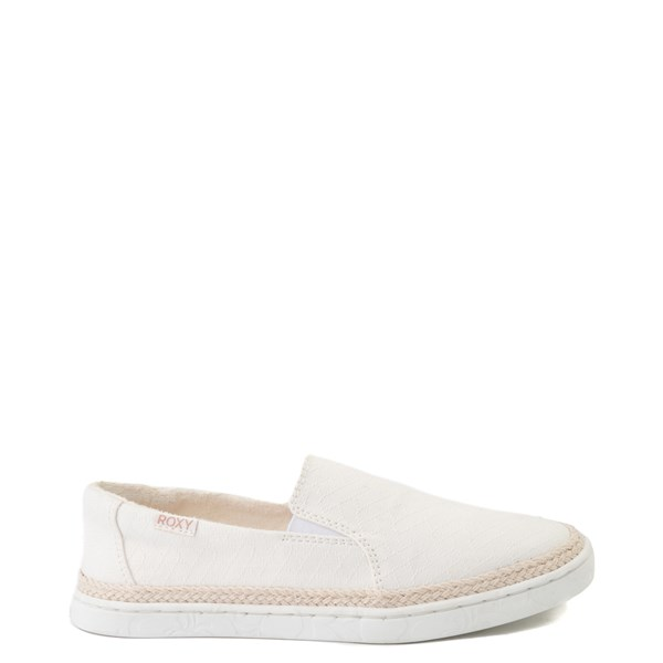 Main view of Womens Roxy Tali Slip On Casual Shoe - White
