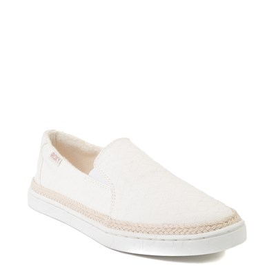 Alternate view of Womens Roxy Tali Slip On Casual Shoe - White