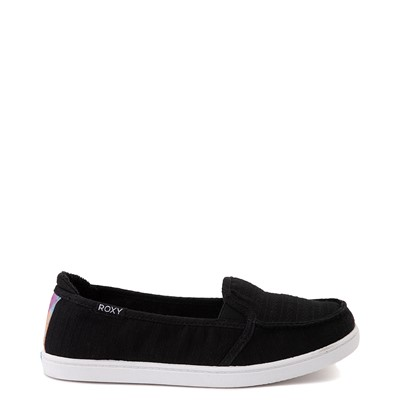 Main view of Womens Roxy Minnow Slip On Casual Shoe - Black / Tie Dye