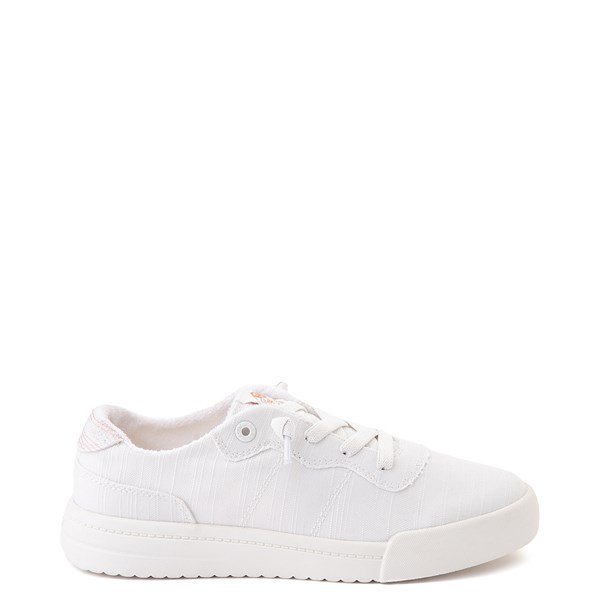 Main view of Womens Roxy Cannon Casual Shoe - White