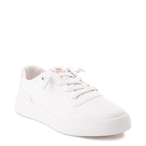 alternate image alternate view Womens Roxy Cannon Casual Shoe - WhiteALT1