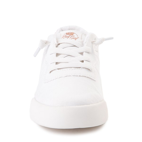 alternate image alternate view Womens Roxy Cannon Casual Shoe - WhiteALT4