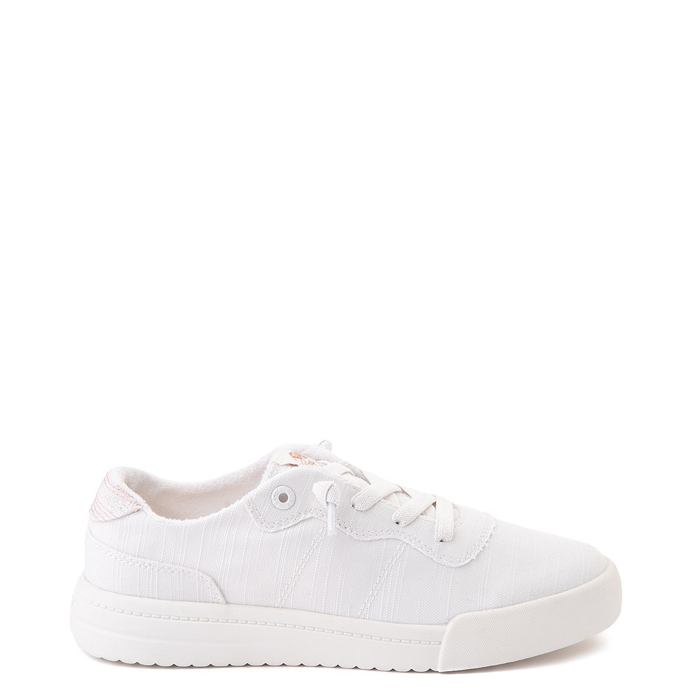 Womens Roxy Cannon Casual Shoe - White