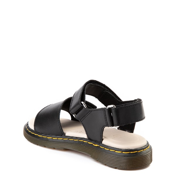 alternate image alternate view Dr. Martens Romi Sandal - Little Kid / Big Kid - BlackALT1