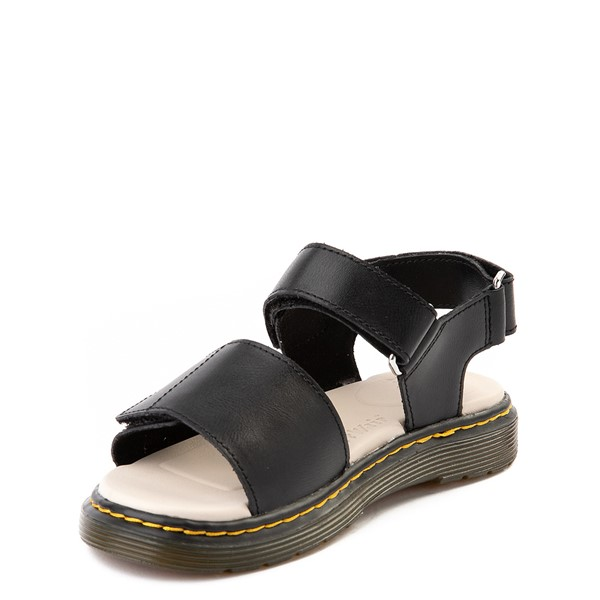 alternate image alternate view Dr. Martens Romi Sandal - Little Kid / Big Kid - BlackALT2