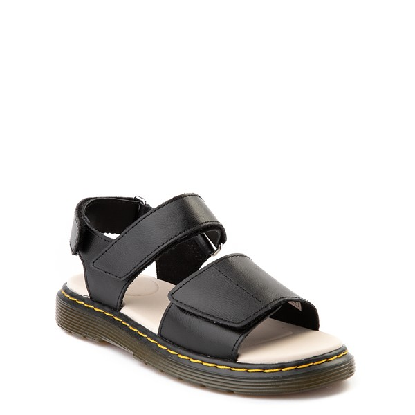 alternate image alternate view Dr. Martens Romi Sandal - Little Kid / Big Kid - BlackALT5