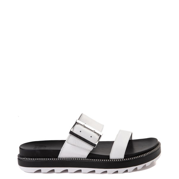 Womens Sorel Roaming™ Slide Sandal - Sea Salt