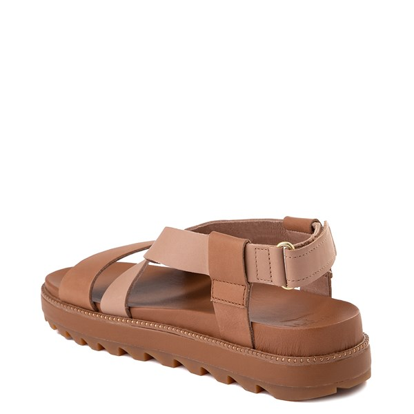 alternate image alternate view Womens Sorel Roaming™ Criss Cross Sandal - Camel BrownALT2