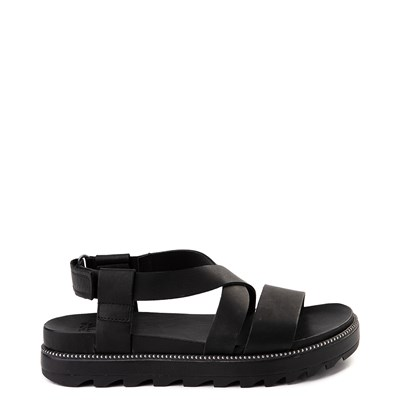 Main view of Womens Sorel Roaming™ Criss Cross Sandal - Black