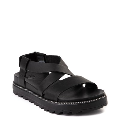 Alternate view of Womens Sorel Roaming™ Criss Cross Sandal - Black