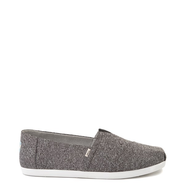 Mens TOMS Classic REPREVE® Slip On Casual Shoe - Grey