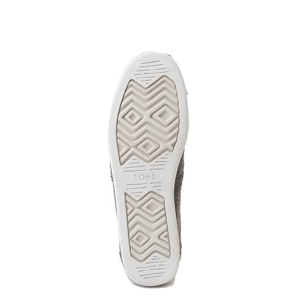 alternate image alternate view Mens TOMS Classic REPREVE® Slip On Casual Shoe - GreyALT5