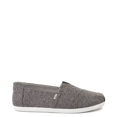 Main view of Mens TOMS Classic REPREVE® Slip On Casual Shoe - Grey
