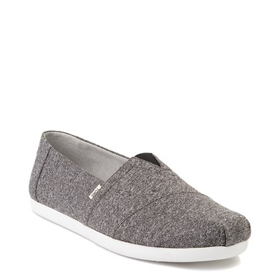 Alternate view of Mens TOMS Classic REPREVE® Slip On Casual Shoe - Grey