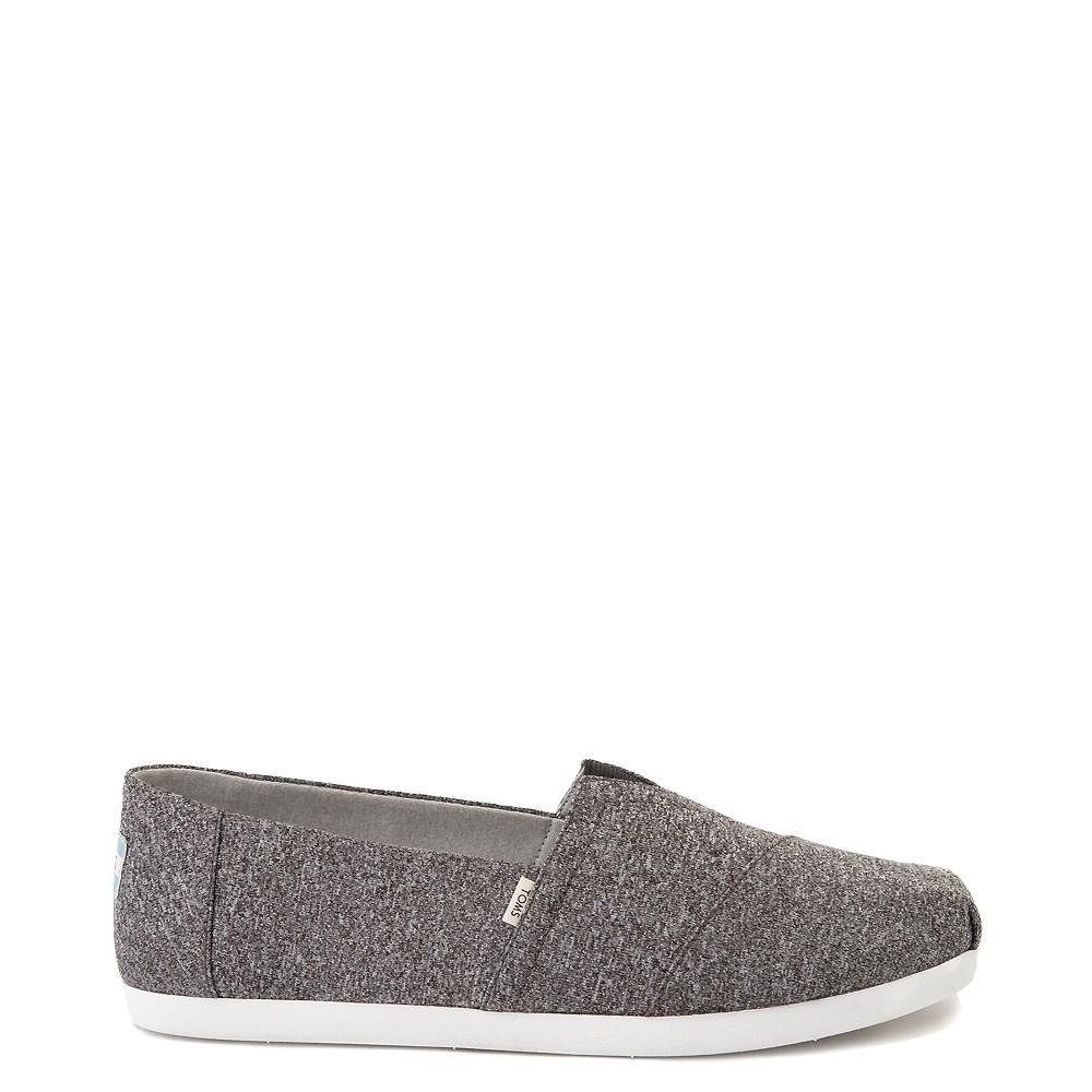 Mens TOMS Classic REPREVE® Slip On Casual Shoe - Grey