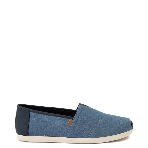 Mens TOMS Classic Slip On Casual Shoe - Denim
