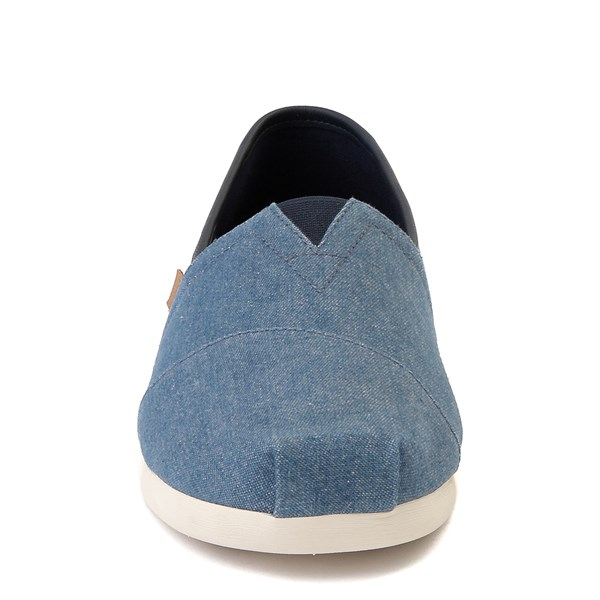 alternate image alternate view Mens TOMS Classic Slip On Casual Shoe - DenimALT4