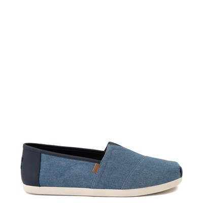 Main view of Mens TOMS Classic Slip On Casual Shoe - Denim