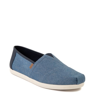 Alternate view of Mens TOMS Classic Slip On Casual Shoe - Denim