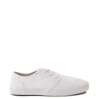 Main view of Mens TOMS Carlo Casual Shoe - White
