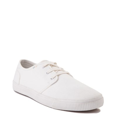 Alternate view of Mens TOMS Carlo Casual Shoe - White