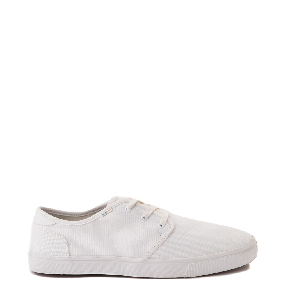 Mens TOMS Carlo Casual Shoe - White