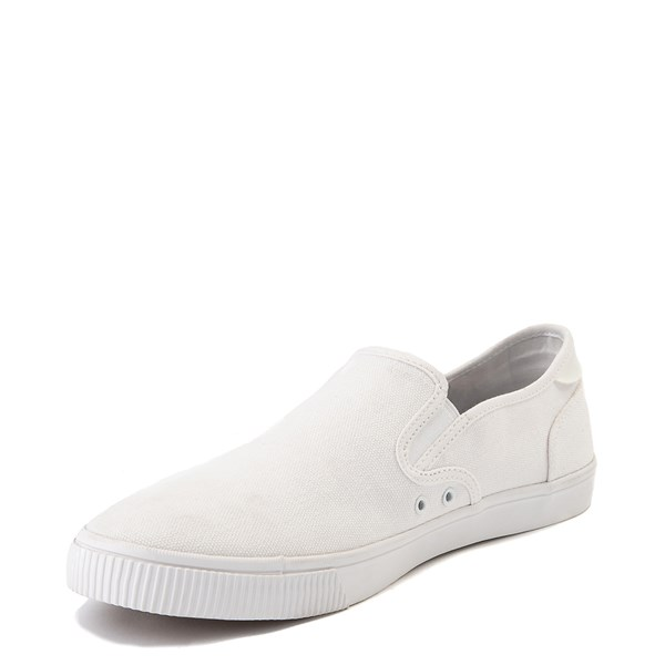 alternate image alternate view Mens TOMS Baja Slip On Casual Shoe - WhiteALT3