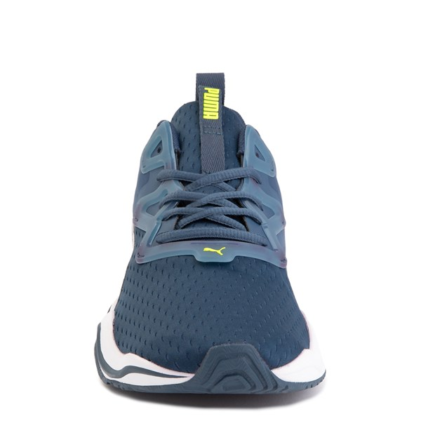 alternate image alternate view Mens Puma Zone XT Athletic Shoe - Dark Denim / Yellow AlertALT4