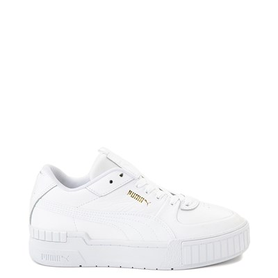 Main view of Womens Puma Cali Sport Athletic Shoe - White
