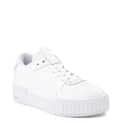 Alternate view of Womens Puma Cali Sport Athletic Shoe - White