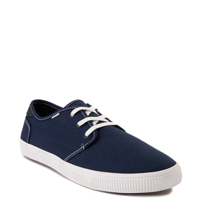Alternate view of Mens TOMS Carlo Casual Shoe - Navy