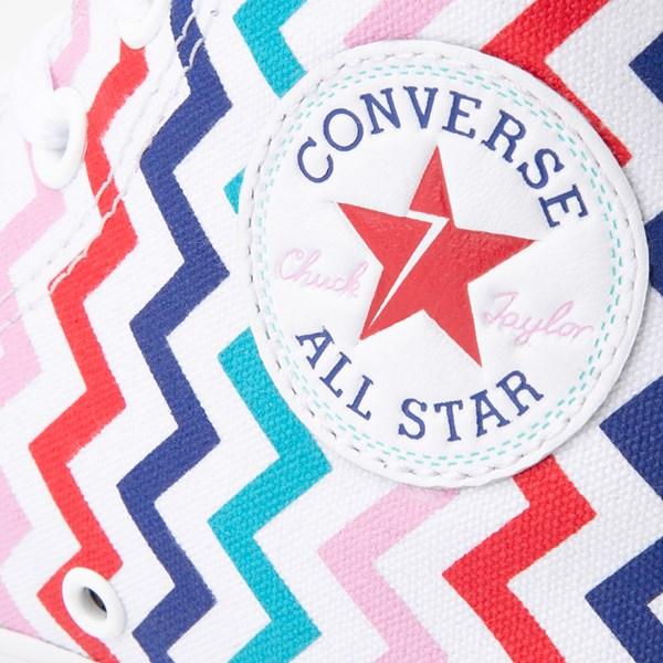 alternate image alternate view Womens Converse Chuck Taylor All Star Hi Voltage Sneaker - White / MultiALT6
