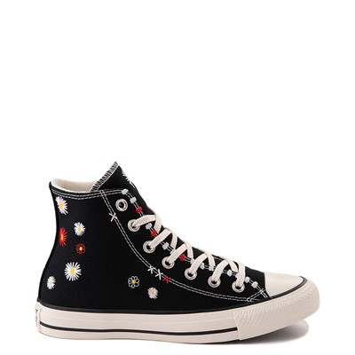 Main view of Womens Converse Chuck Taylor All Star Hi Friends For Life Sneaker - Black