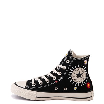 Alternate view of Womens Converse Chuck Taylor All Star Hi Friends For Life Sneaker - Black