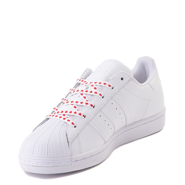 alternate image alternate view Womens adidas Superstar Athletic Shoe - White / MultiALT3