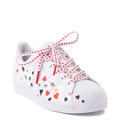 Alternate view of Womens adidas Superstar Athletic Shoe - White / Multi