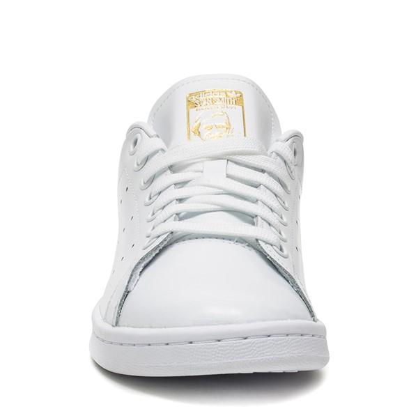 alternate image alternate view Womens adidas Stan Smith Athletic Shoe - White / SnakeskinALT4