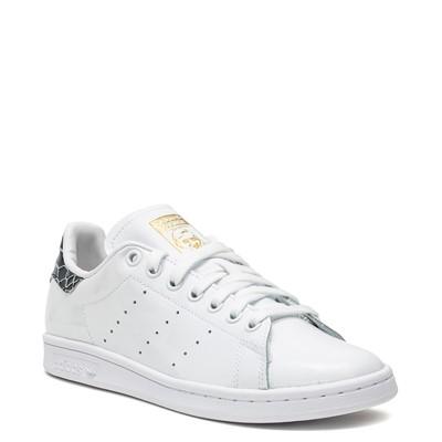 Alternate view of Womens adidas Stan Smith Athletic Shoe - White / Snakeskin