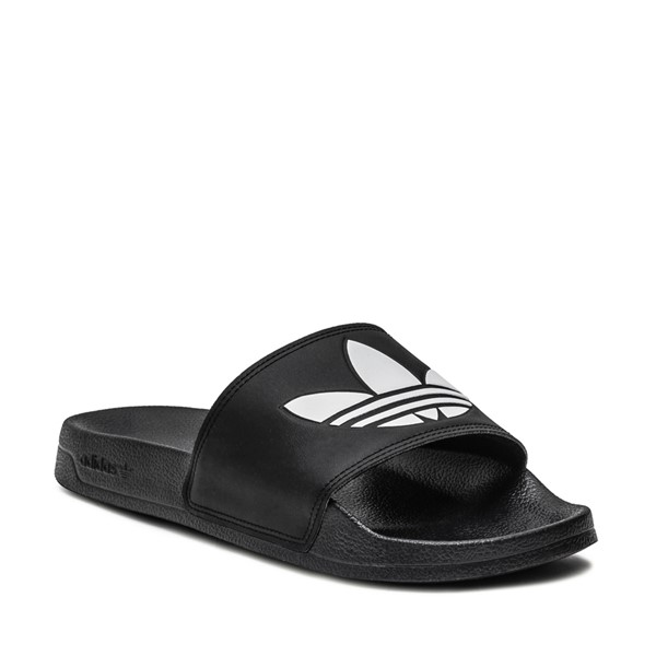 alternate image alternate view Mens adidas Adilette Lite Slide Sandal - BlackALT5