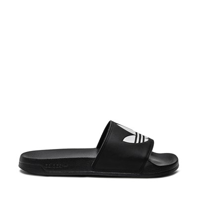 Main view of Mens adidas Adilette Lite Slide Sandal - Black