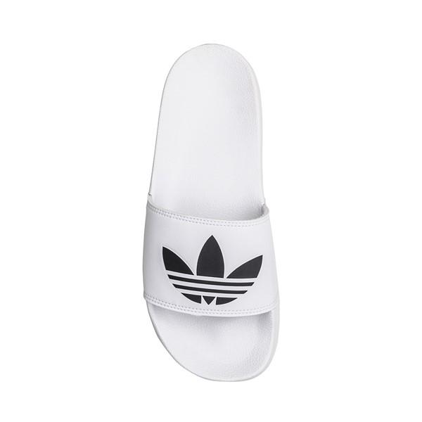 alternate image alternate view Mens adidas Adilette Lite Slide Sandal - WhiteALT1