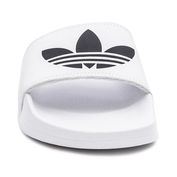 alternate image alternate view Mens adidas Adilette Lite Slide Sandal - WhiteALT4