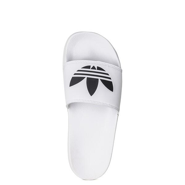 alternate image alternate view Mens adidas Adilette Lite Slide Sandal - WhiteALT4B