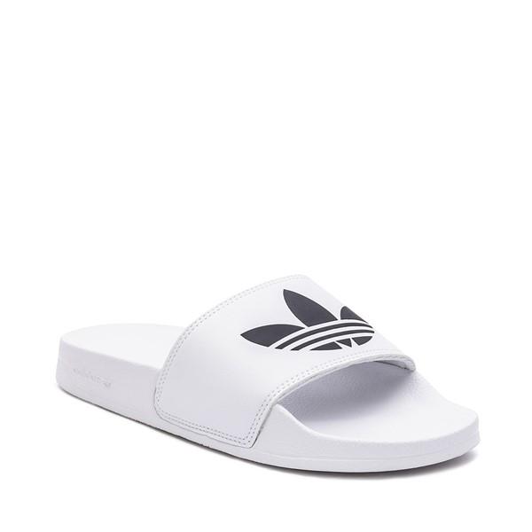 alternate image alternate view Mens adidas Adilette Lite Slide Sandal - WhiteALT5