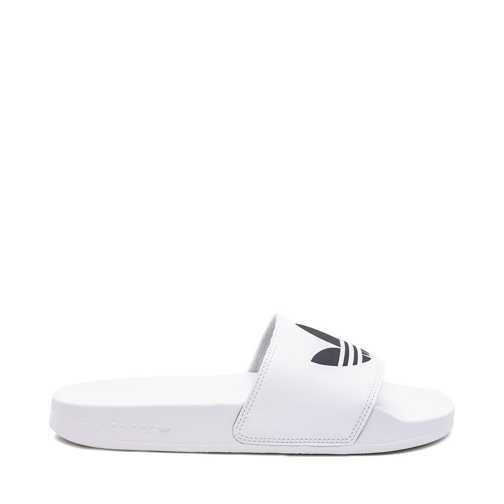 Mens adidas Adilette Lite Slide Sandal - White